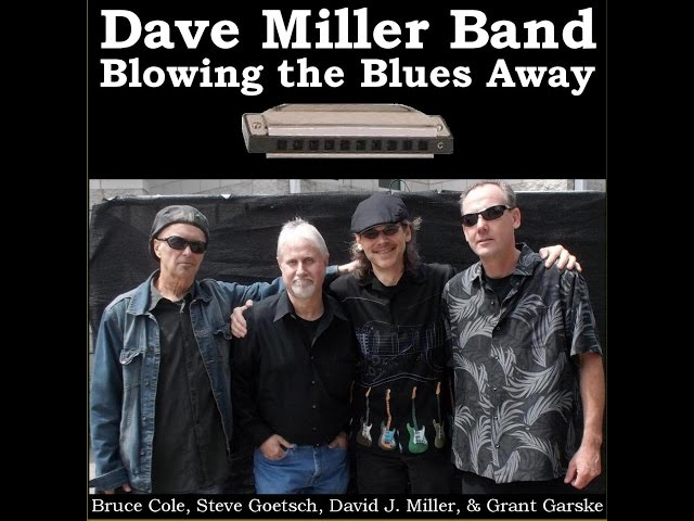 """Promotional video for the Dave Miller Band CD """"Blowing the Blues Away"""""""