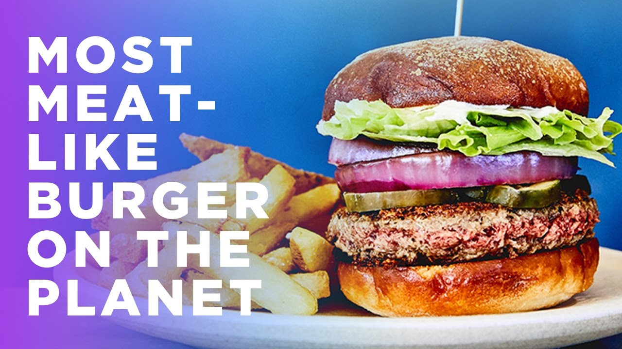 Impossible Burger: The World's Most Meat-Like Vegan