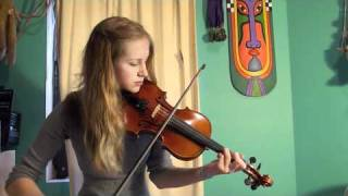 Contradanza made famous by Vanessa Mae, violin cover by Maya
