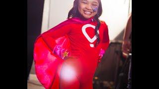 Meet superhero Angelica a.k.a Solar Singer