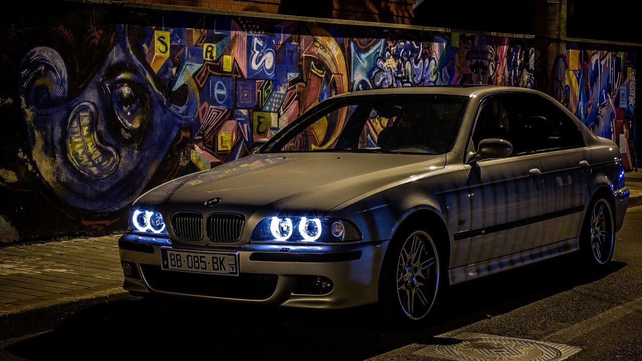Night Ride Bmw M5 E39 400hp Youtube