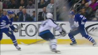Kadri slips behind everyone, scores on a perfect backhand