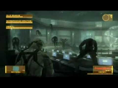 Вопрос: Как победить Ментиса в игре Metal Gear Solid 4?