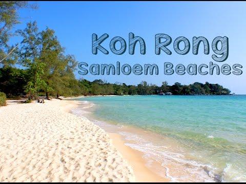 Top 3 Beaches on Koh Rong Samloem, Cambodia