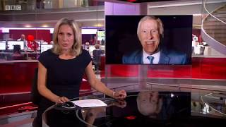 BBC News Report: Sir Bruce Forsyth has died - 18th August 2017