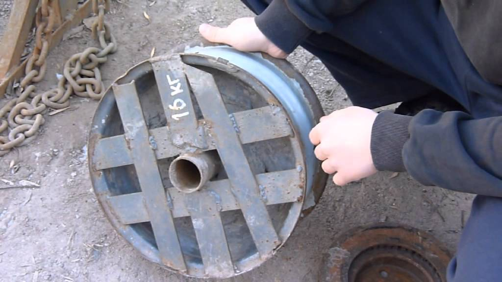 Штанга своими руками из дисков