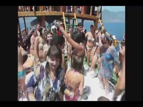 Turkiye Alanya Boat Tour 2012