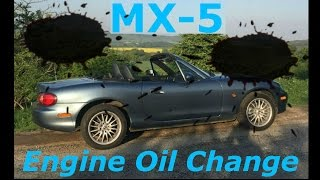 How to change the engine oil on your Mazda MX-5 MK2 (Miata NB)