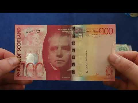 Bank of Scotland - Bridge Series Banknotes