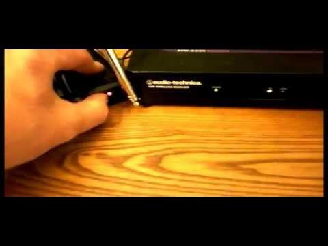AUDIO TECHNICA ATW-R250 + ATW-T201 LIBERATOR WIRELESS RADIO MICROPHONE / GUITAR