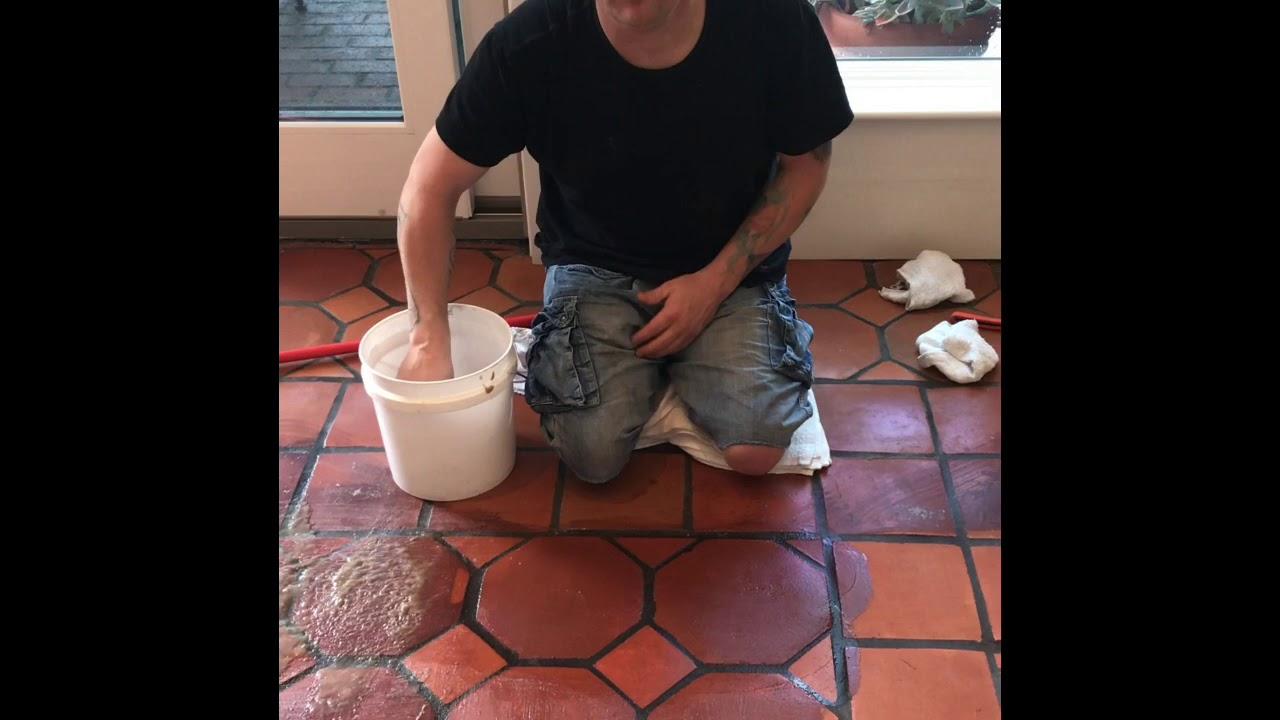 Sealer Removal From Terracotta Tile
