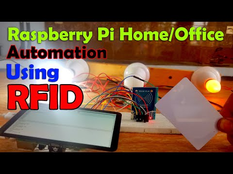 Raspberry Pi Home Automation using RC522 RFID Module, RPI Smart Home