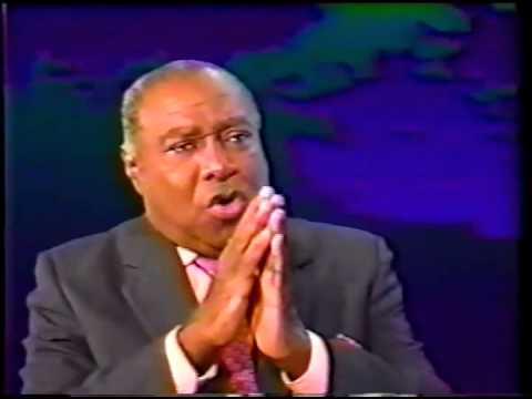 Leslie Manigat Entrevue à Télémax Emission Profil 1er janvier 1999