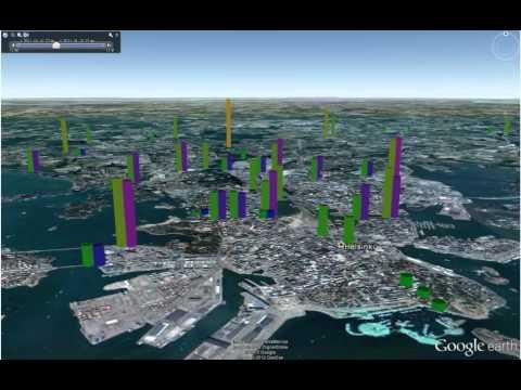 Visualizing traffic in Helsinki Region