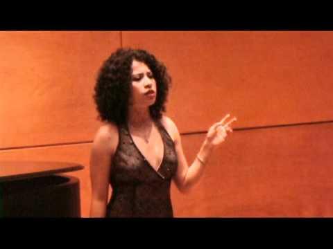 Gabriela Flores / Ivette Flores sings Summertime b...
