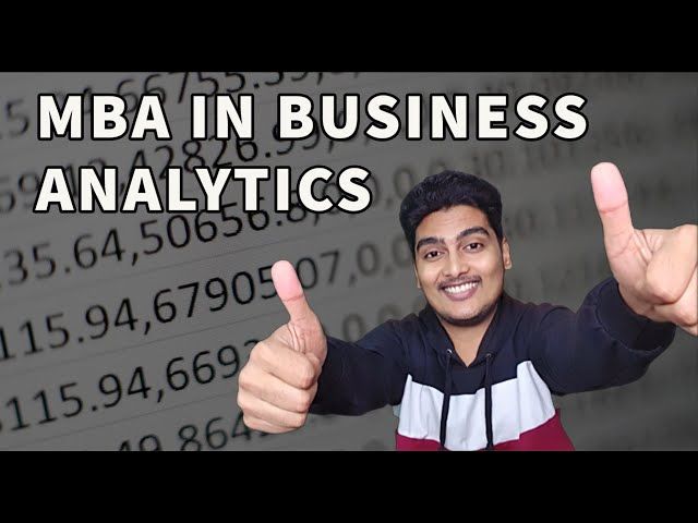 🔥MBA in Business Analytics ⚡️ Career, Jobs, Salary, Certifications, Syllabus, Top Colleges