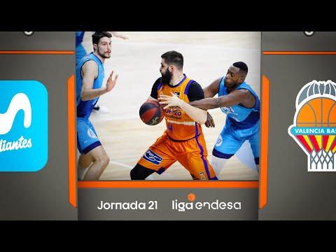 Movistar Estudiantes - ValenciaBasket (73-77) RESUMEN | Liga Endesa 2019-20
