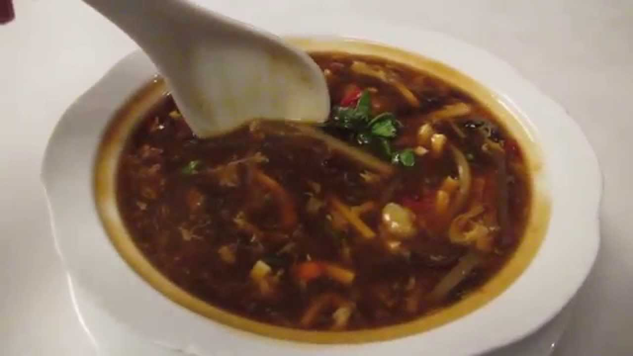 Shanghai Sweet And Sour Soup