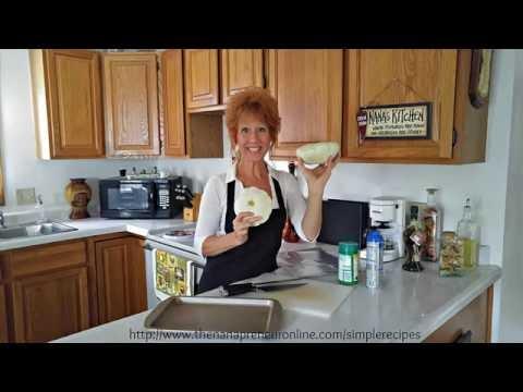 Nana's Kitchen: Parmesan Baked Patty Pans