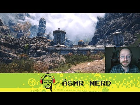 Twitch Archive | ASMR-ish Let's Play Skyrim! | 1 | It's So Dark...