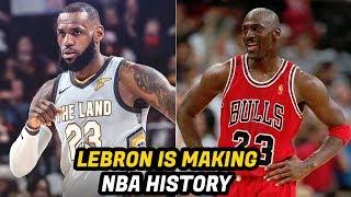 5 NBA Records LeBron James Broke in the 2017-2018 Season