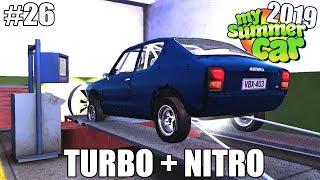 My Summer Car 2019 - Dinamômetro com Turbo e Nitro! Quantos cavalos será que vem? (NOVA ATUALIZAÇÃO)