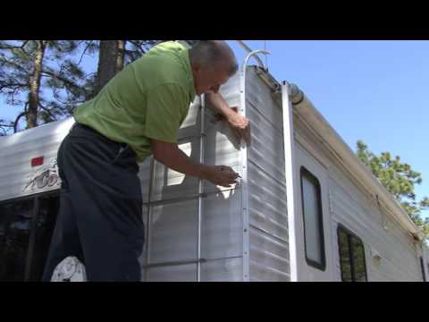 How To Reseal Rv Corner Molding Youtube