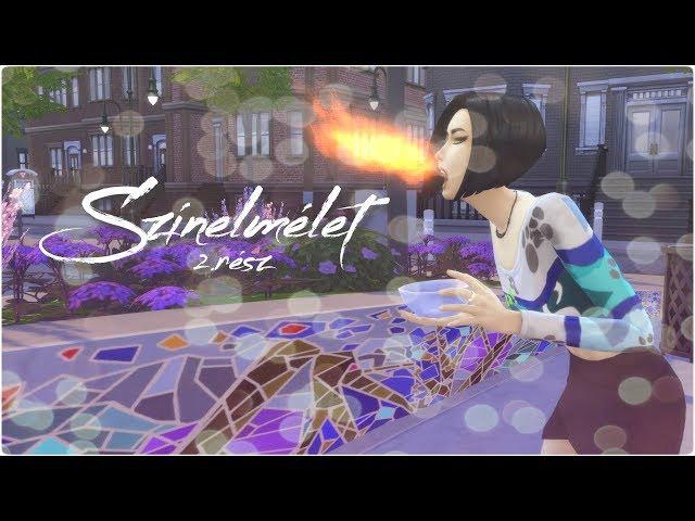 The Sims 4: Színelmélet   2.rész   Sárkánytűz
