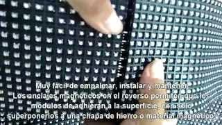 Panel LED Flexible y magnético - Full Color de 1200 nits