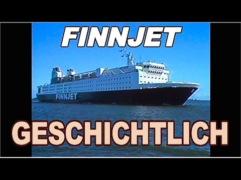 FINNJET SERVICES (1984 / auf Deutsch / in German)