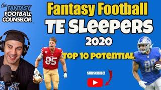 Fantasy Football TE Sleepers 2020 - Top 10 Potential