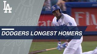 Statcast: Longest Dodgers homers of 2017 season