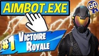 TOP 1 EXCEPTIONNEL GRACE A MON AIMBOT SUR FORTNITE BATTLE ROYALE !!