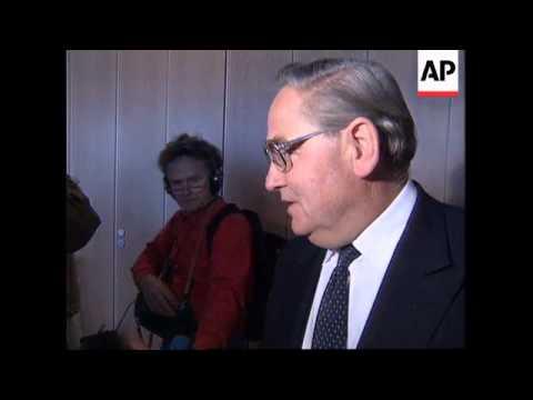 GERMANY: FRANKFURT: EUROPEAN MONETARY INSTITUTE CONFERENCE