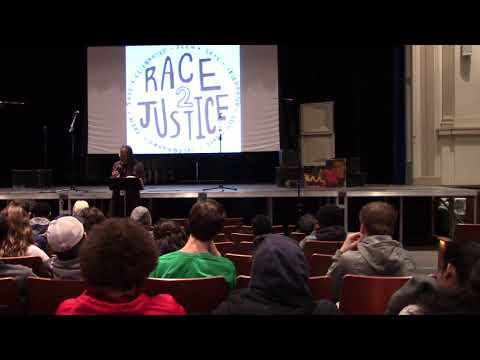 Andrea Jenkins at Washburn High School's Race 2 Justice Day - March 21, 2018