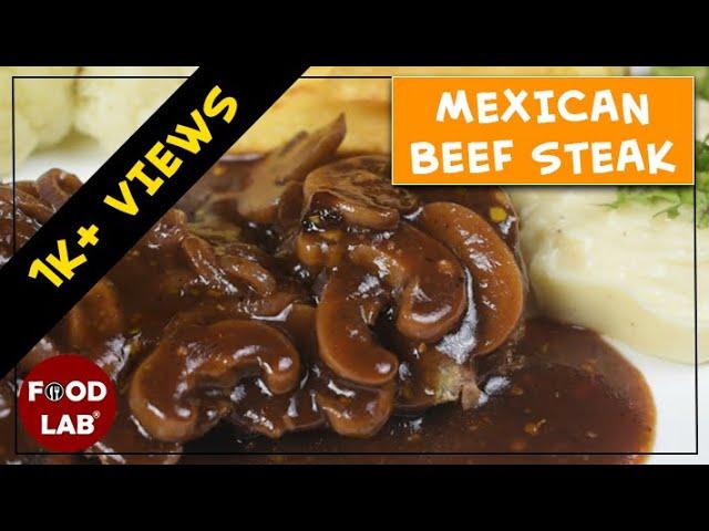 Mexican Beef Steak Recipe | Food Lab