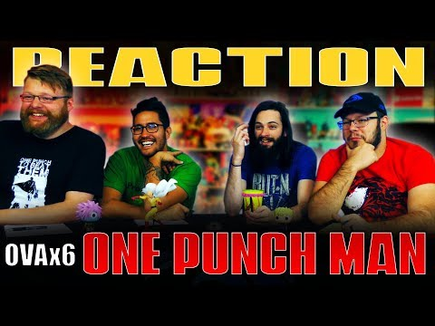"One Punch Man: OVA #6 REACTION!! ""The Murder Case That Is Too Impossible"""