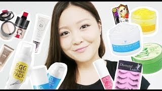 Taiwan Makeup Haul: Etude House, Too Cool For School, Annie