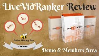 LiveVidRanker Review Demo MembersArea