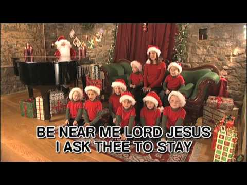 Away In A Manger - Christmas Carol - With Lyrics