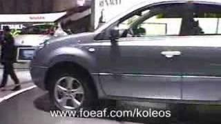 Renault Koleos - Genève 2008 extérieur