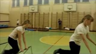 Урок физкультуры в 5 классе (на районном конкурсе) 2014г