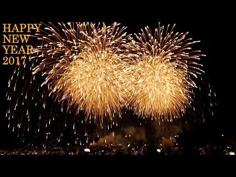 2017 Fireworks Perth AUSTRALIA | New Year Fireworks