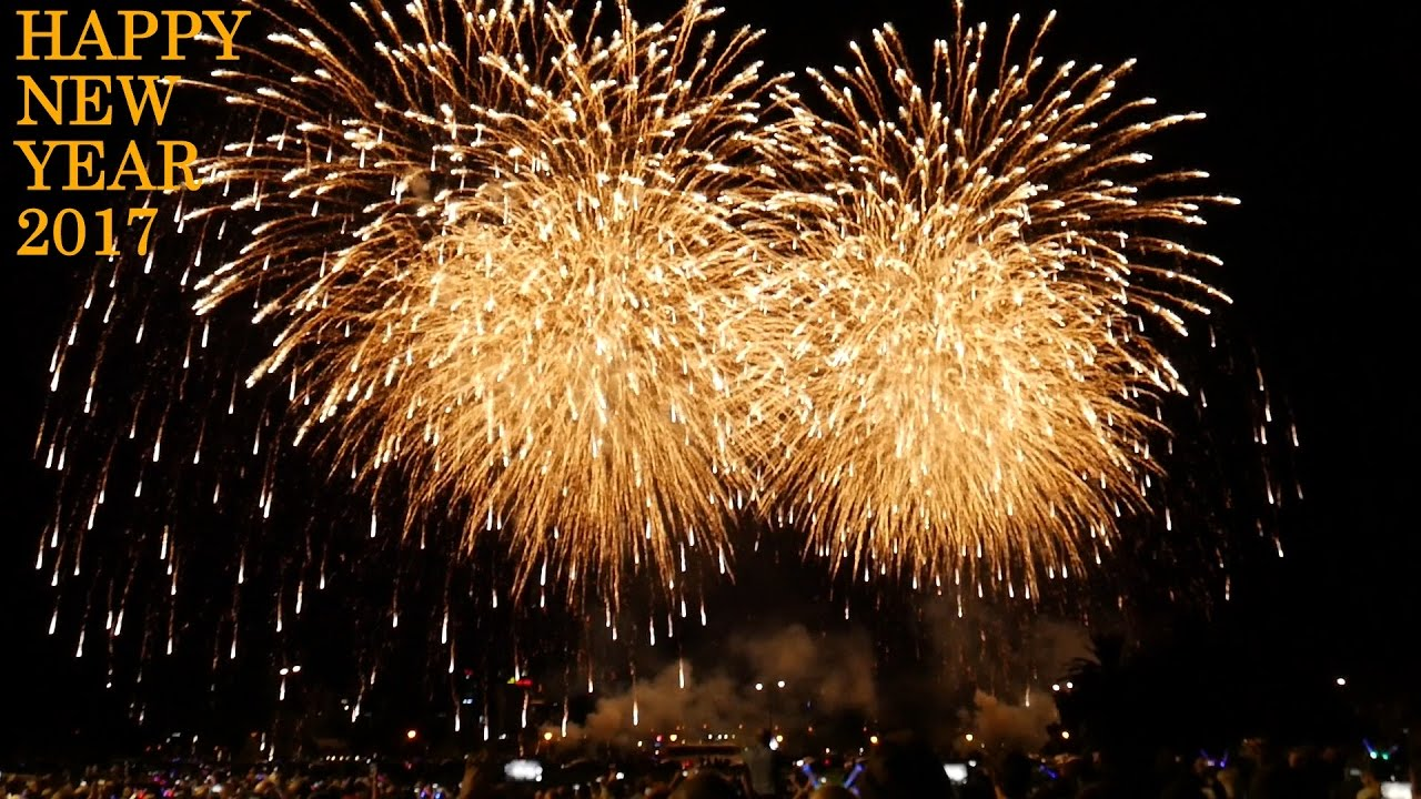 2017 Fireworks Perth Australia New Year Fireworks Youtube