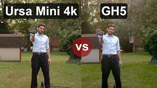 Ursa Mini 4k vs. GH5