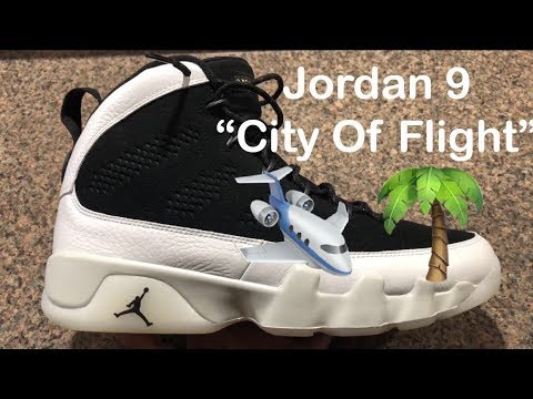 "AIR JORDAN 9 RETRO ""CITY OF FLIGHT"" (Review + On Foot)"