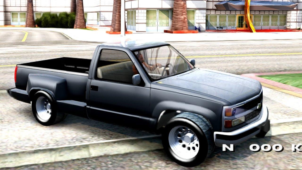 1996 Chevrolet Silverado 1500 Gta San Andreas Youtube
