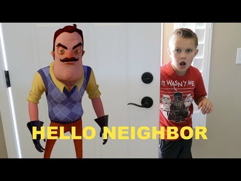 BROKE INTO MY NEIGHBOR'S HOUSE!! | HELLO NEIGHBOR IN REAL LIFE!