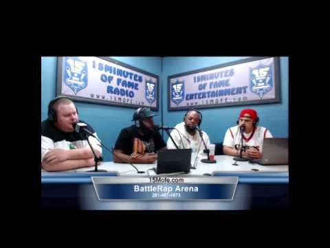 URL Battle Rap Arena/15MOFE Radio - Pt.1 Smack Talks Lux vs. Hollow, Math Hoffa, Arsonal & More