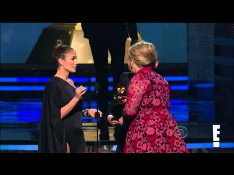 Vitalii Sediuk Crashes Grammys before Adele's speech - Lopez rescues
